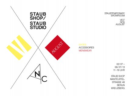 STAUBTEMPORARY SHOWROOM !